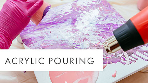 Arcylic Pouring Teaser