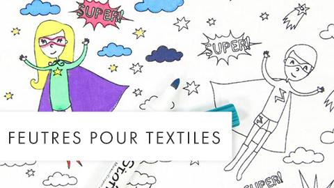 Feutres pour textiles