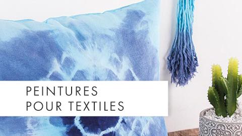 Peintures pour textiles