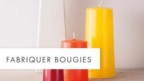 Fabriquer bougies