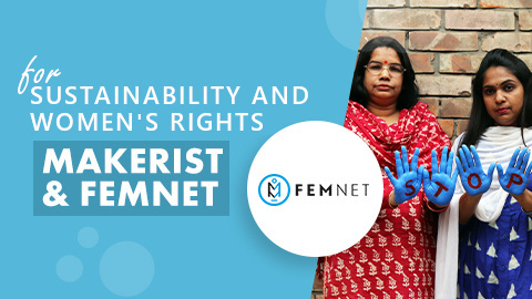 Makerist & Femnet: Supporting Fairer Labor Conditions