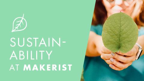 Sustainability at Makerist