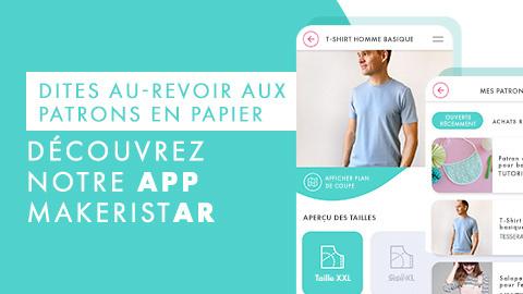 L'application Makerist AR