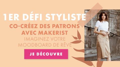 Défi styliste : co-création de patrons via un challenge moodboard !