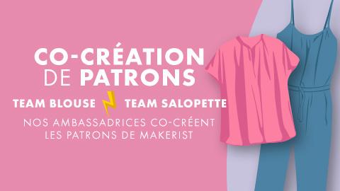 Défi styliste : co-création de patrons avec nos ambassadrices !