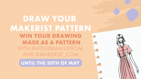 Draw your Makerist pattern : your dream summer dress or boho skirt!