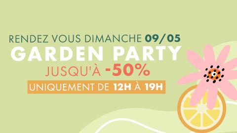 Makerist vous invite à sa Garden Party ce dimanche 9 mai !