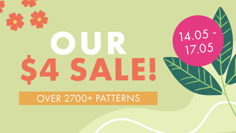 Our $4 Pattern Sale!