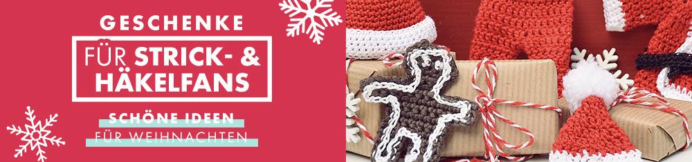 Die schönsten Weihnachtsgeschenke für Strick- und Häkelfans