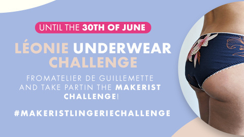 Lingerie challenge : sew the Léonie panties and win gifts!