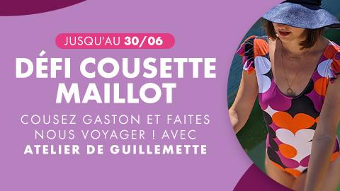 Défi cousette maillot : cousez le maillot Gaston et remportez des lots !