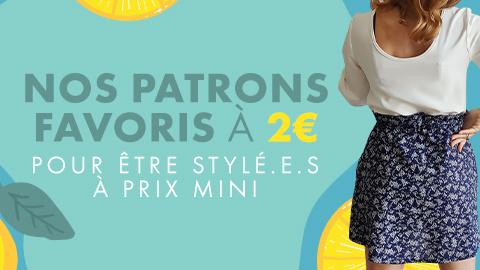 Idées de tenues : nos patrons favoris à 2€ !