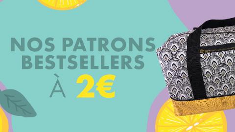 Nos patrons Best sellers à 2€ : juin 2021