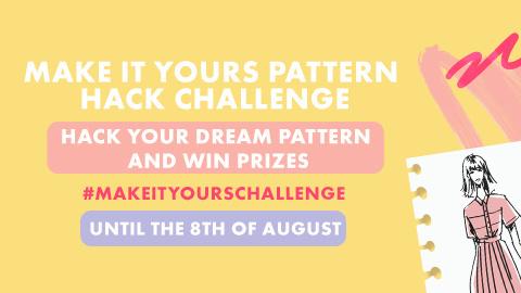 #Makeityours summer pattern hack challenge
