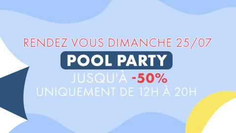 Makerist vous invite à sa Pool Party ce dimanche 25 juillet !