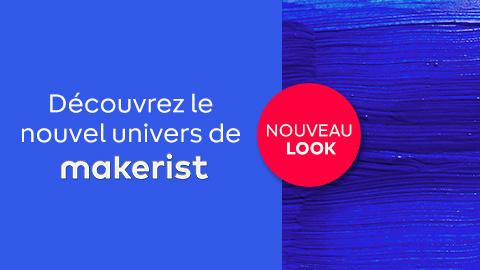 découvrez le nouvel univers de Makerist