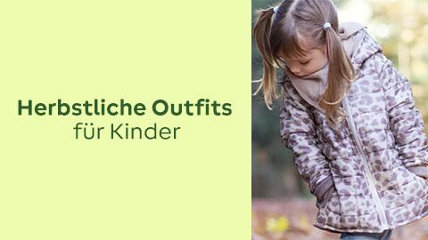 Herbstliche Anleitungen & Bekleidungsstoffe für Kinder