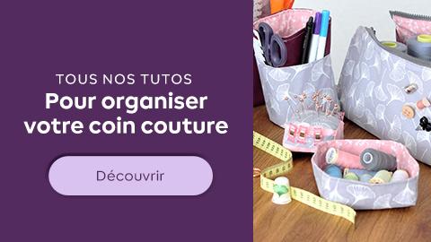 Organiser son atelier couture !