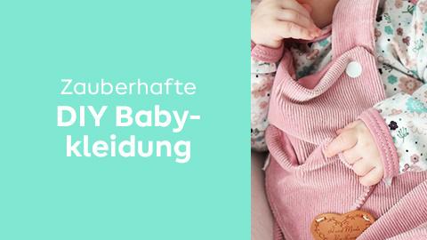 Babykleidung selber machen