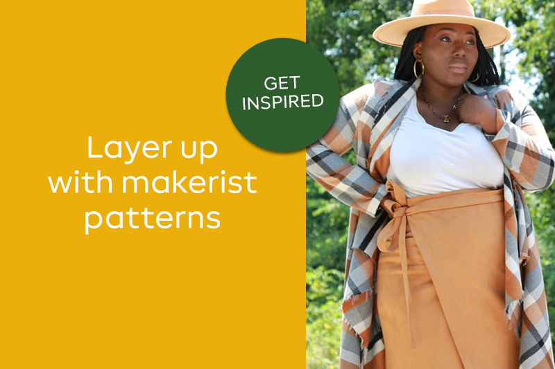 Layer up with makerist patterns