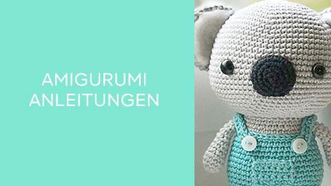 Anleitungen für Amigurumis