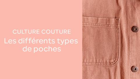 Culture couture : les différents types de poche