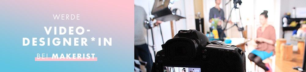 Video-Designer*In werden bei Makerist