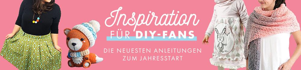 Inspiration zum Jahresstart - Die neuesten DIY-Projekte