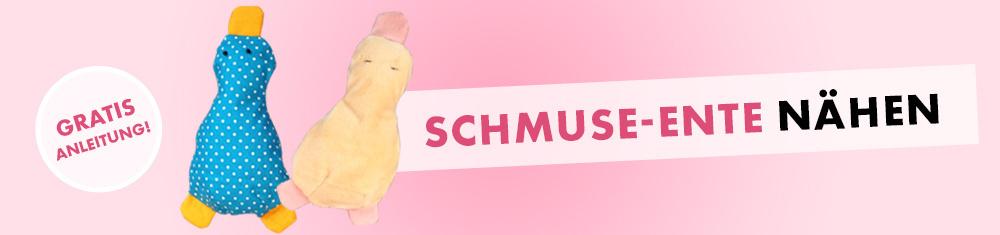 Schmuse-Ente nähen - Schönes aus Stoffresten nähen mit dem NGV-Verlag