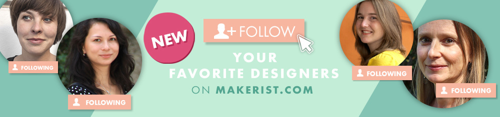 NEW: Follow Your Favourite Designers on Makerist