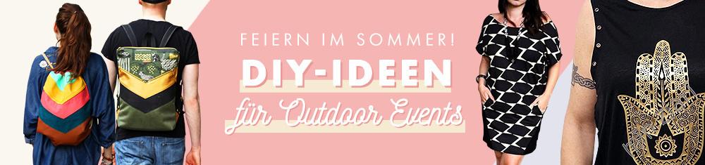 Feiern im Sommer - DIY Ideen für Outdoor Events