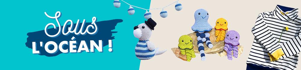 Des idées de tutoriels couture, tricot et plotter qui sentent bon la mer.