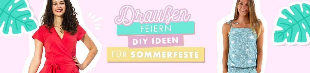 Die schönsten DIY Outfits für Sommerfeste