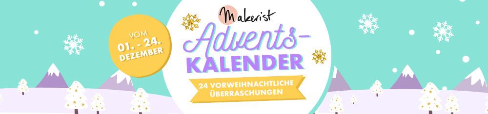 Makerist Adventskalender 2018
