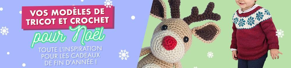 Modeles de tricot et crochet de Noël | Makerist vous accompagne pour les fêtes de fin d'année