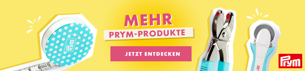 F wie Fadenspannung (Oberfaden) im Makerist Nählexikon – powered by Prym_footer