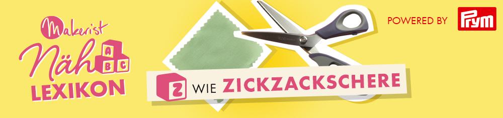 Z wie Zickzackschere im Makerist Nählexikon - Powered by Prym