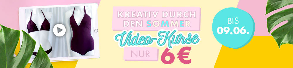 Kreativ durch den Sommer (Video-Kurse nur 6 €)