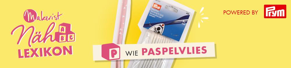 Paspelband selber machen - schnell und sauber mit Paspelvlies