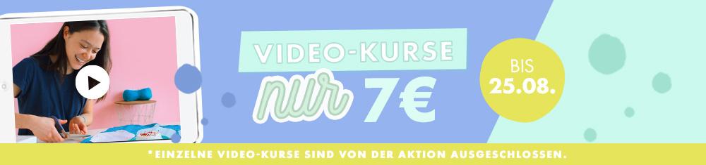 Video-Kurse nur 7 €