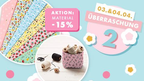 Osterspektakel Überraschung 2 - 15% Rabatt auf Material