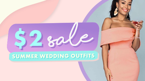 Wedding Guest Outfits - $2 Sale