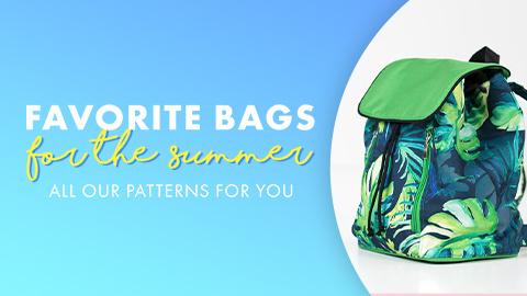 Our favorite bag patterns!