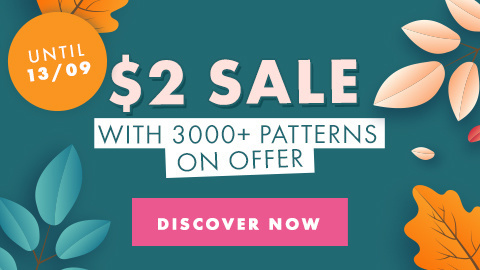 Our Amazing Fall $2 Pattern Sale!