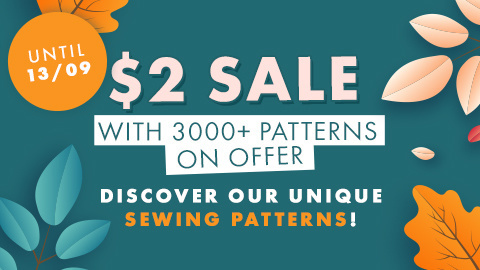 $2 Sale Sewing Patterns