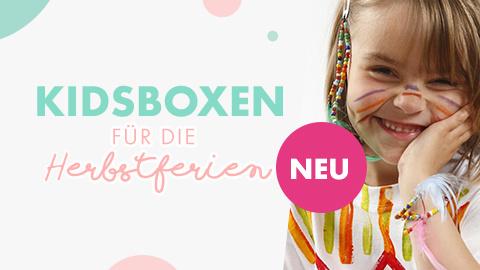 Neu: Kidsboxen für die Herbstferien