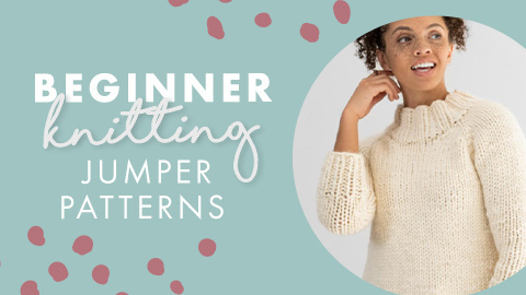 Beginner Knitted Jumper Patterns