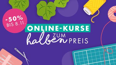 Online-Kurse zum halben Preis - Nur bis 08.11.2020