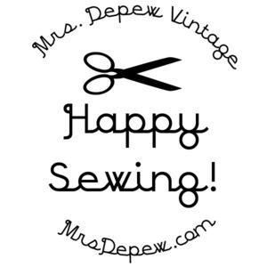 Mrs. Depew Vintage