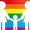 Small regenbogenfamilie grafik adoption homosexuelle